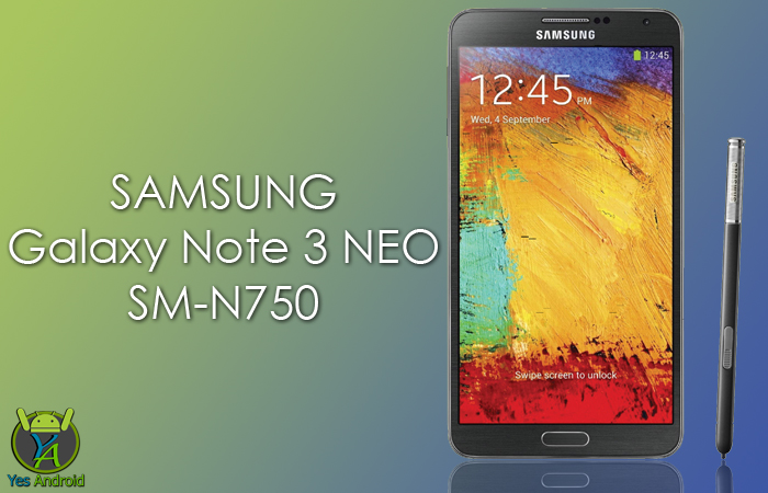 N750XXSDPL1 | Galaxy Note 3 Neo SM-N750