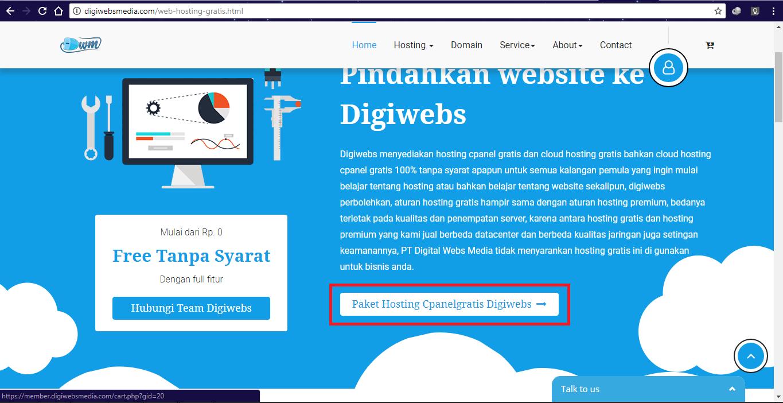Digiwebsmedia.com Cloud Hosting Dan Domain Termurah Di Indonesia