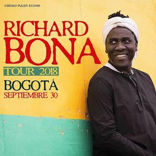 Concierto de RICHARD BONA en Bogotá
