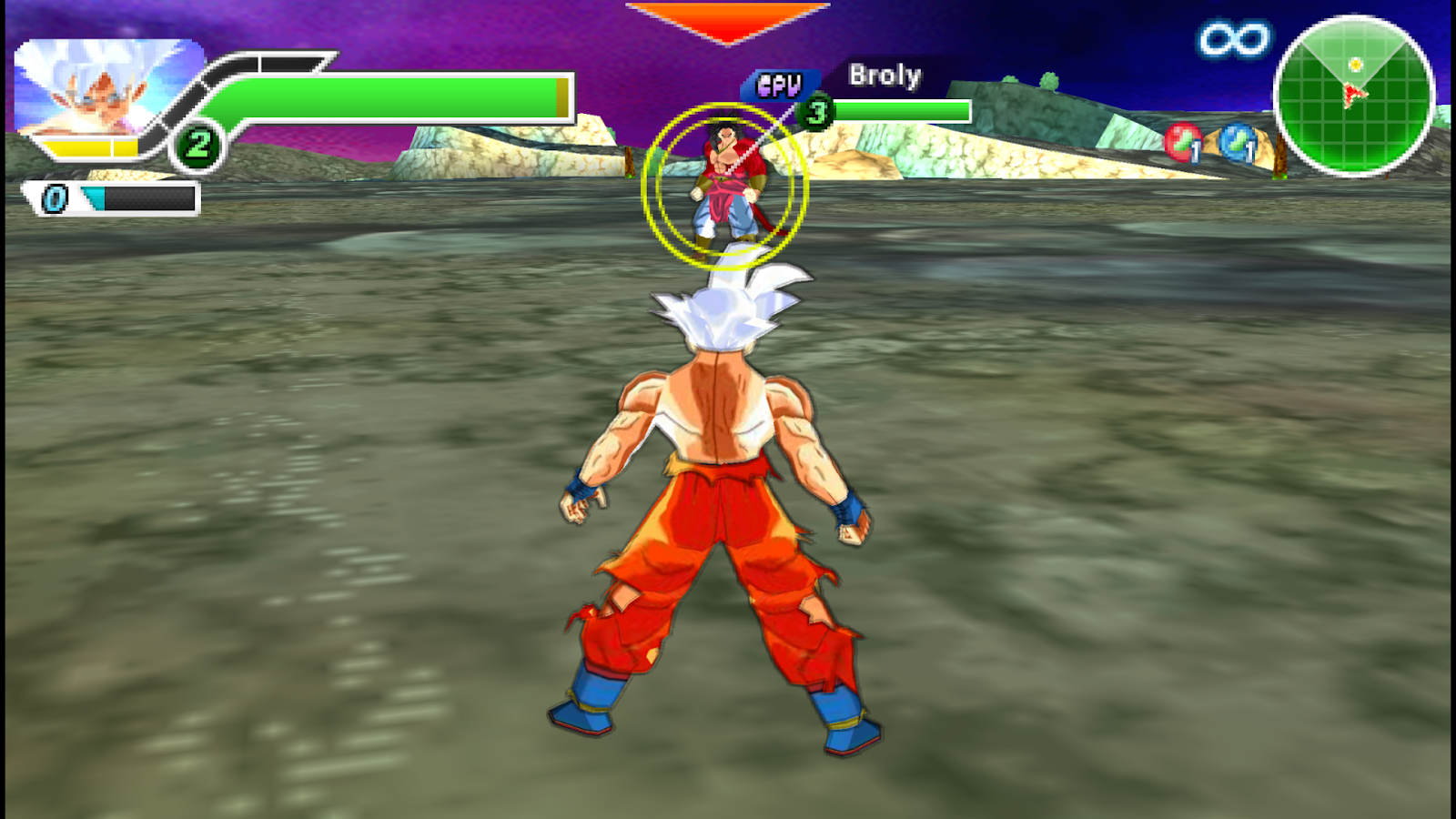 Dragon Ball Heroes Para Android Mod Ppsspp Com Menu Modificado