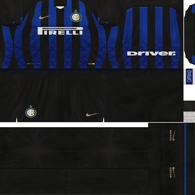 PES 6 Kits FC Internazionale Milan Season 2018/2019 Dibu Edition