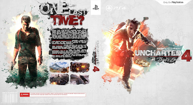 Capa Uncharted 4 A A Thiefs End PS4