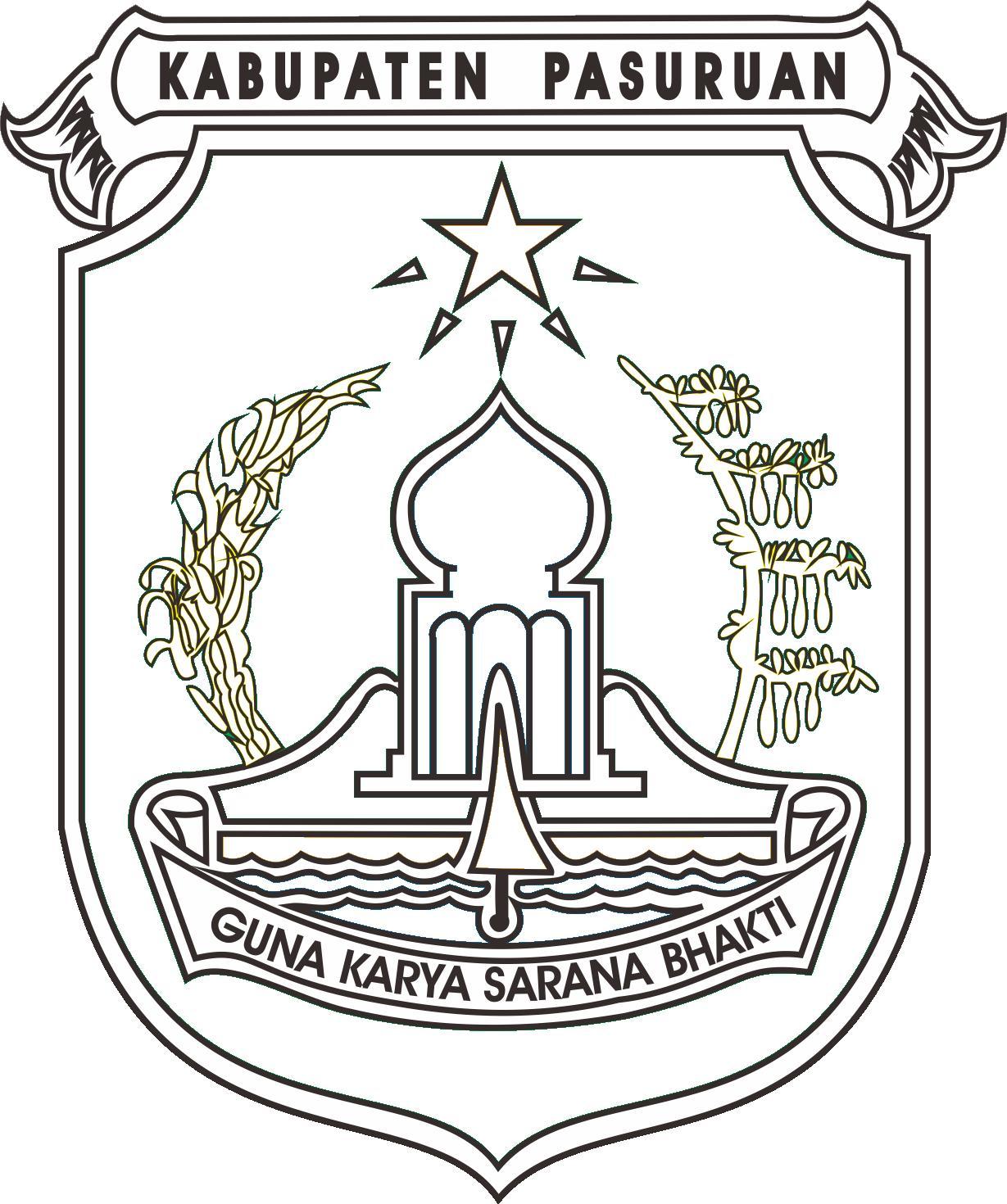 Logo Kabupaten Pasuruan Jawa Timur
