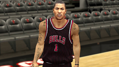NBA 2K14 Derrick Rose Next-Gen Face Mod