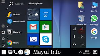 Cara Merubah Tampilan Android Menjadi PC Windows 7 Tanpa Root Terbaru