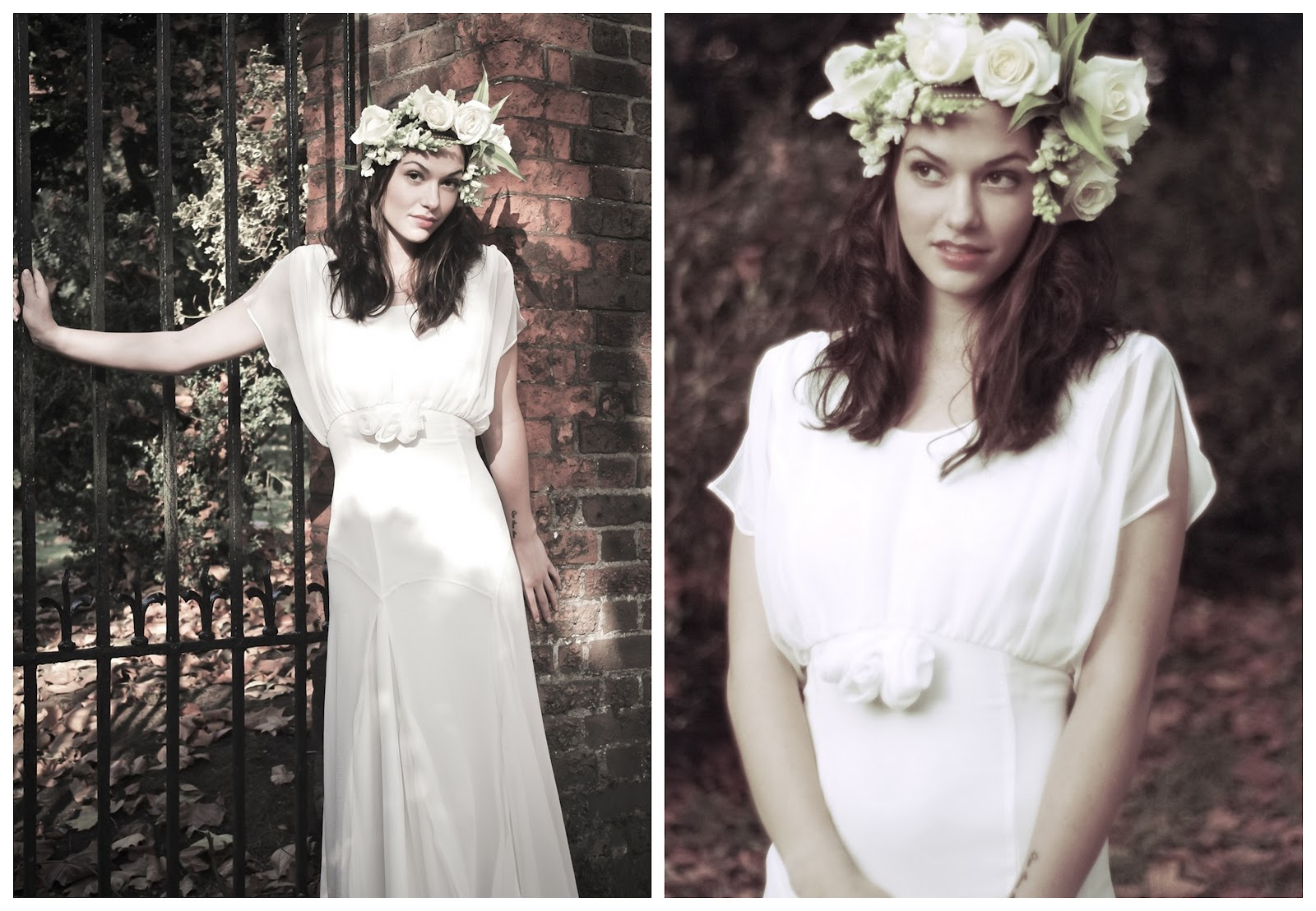 Reasonable But Dreamy Vintage-Style Wedding Dresses