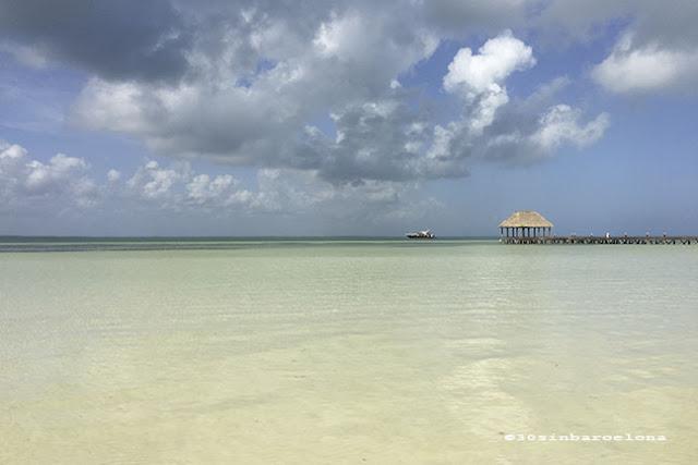 Punta Coco beach in Holbox