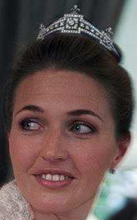 Sapphire Tiara Countess Paris Isabelle France Mellerio Adelaide