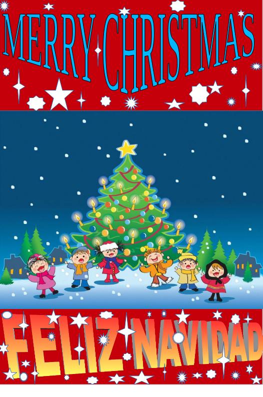 Programa Postales De Navidad.El Blog De Inmatec Tarjetas De Navidad 1º Eso