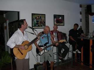 Davis Zunk-guitar/vox, Steve Goodman- guitar, Jimmy Baeck- accordion