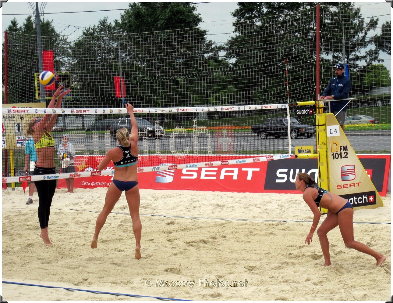 SWATCH FIVB Beach Volleyball Grand Slam Presented By Seat