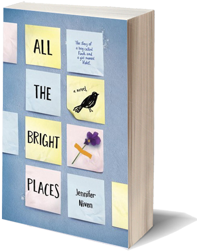 Center Review All The Bright Places By Jenniferniven Center Go Book Yourself