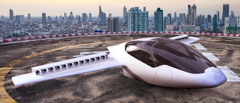 Aerei Da Caccia A Decollo Verticale : Futurix lilium jet il primo aereo elettrico personale