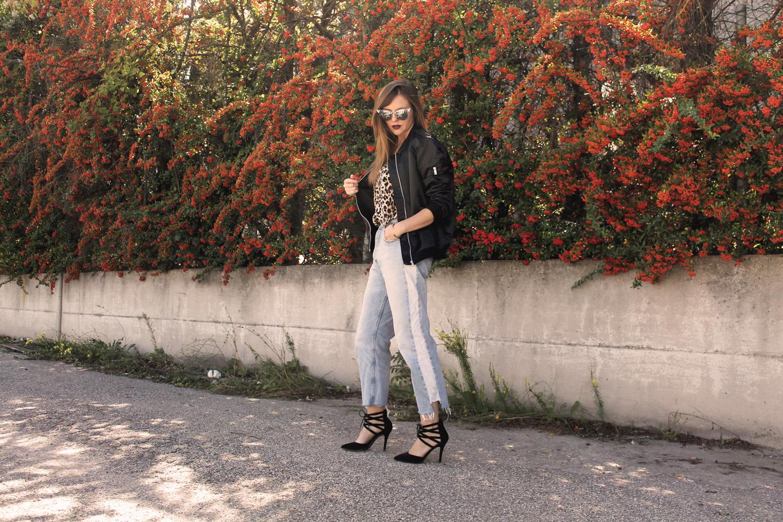 Heidi Klum per Lidl outfit