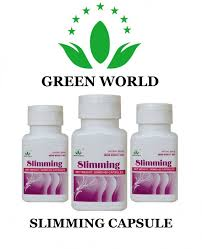Obat Diet Green World Slimming Capsule