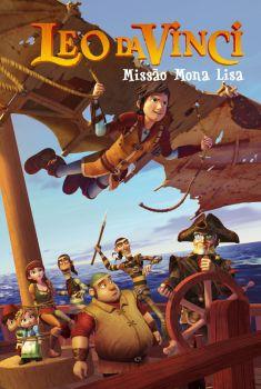 Leo Da Vinci: Missão Mona Lisa Torrent - WEB-DL 720p/1080p Dual Áudio