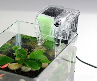 Filtragem do aquário