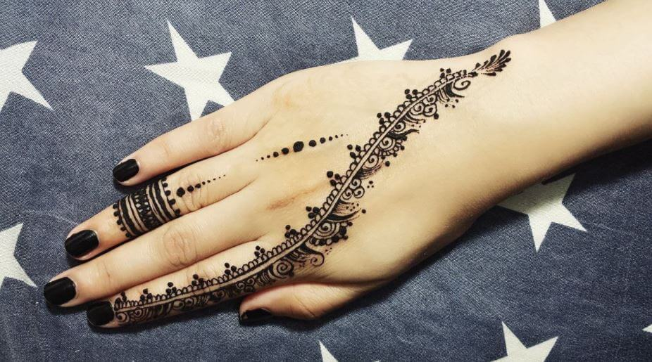 Mehndi Designs In Fingers : Latest mehndi designs for girls simple easy page