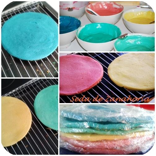 Ingredient Rainbow Cake