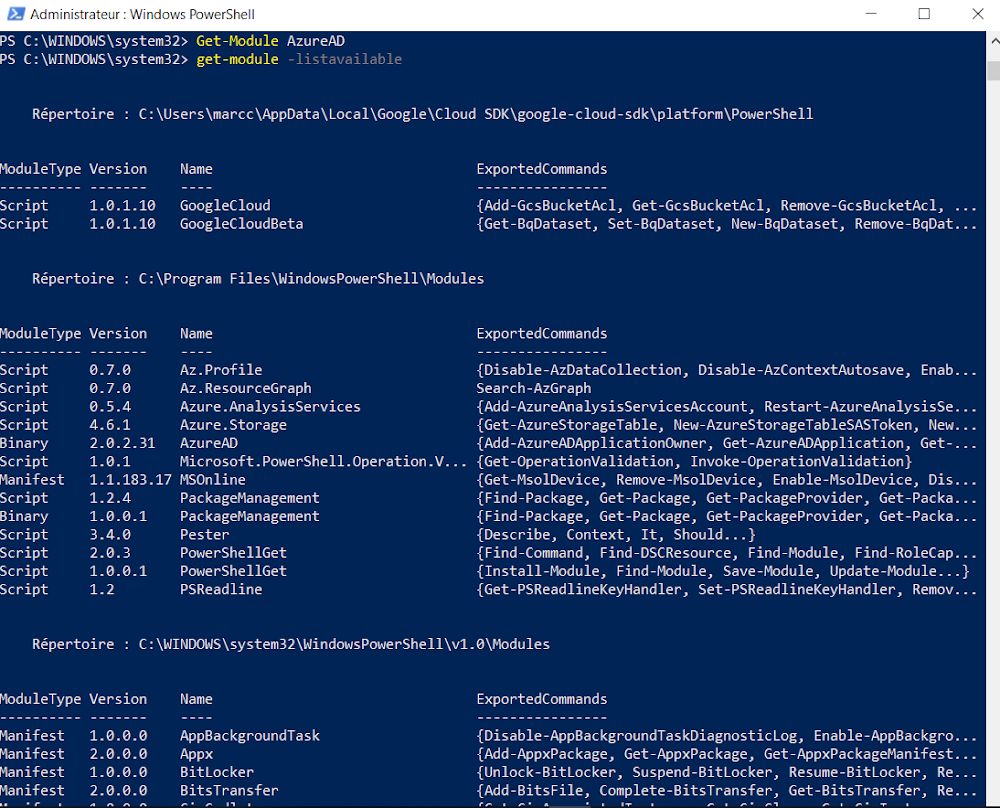 Azure & Co: Check your Azure PowerShell Az Module Installation