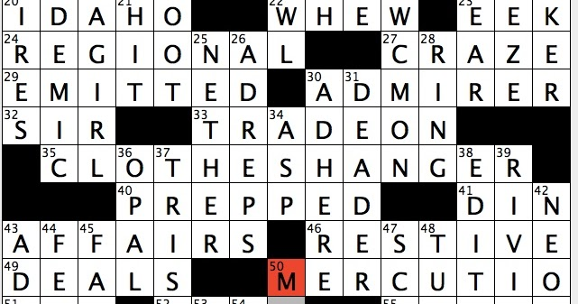 How Long Does Def Last >> Rex Parker Does the NYT Crossword Puzzle: Young gallant in ...