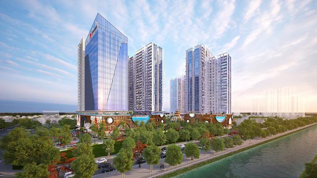 Dự án chung cư cao cấp Hinode City