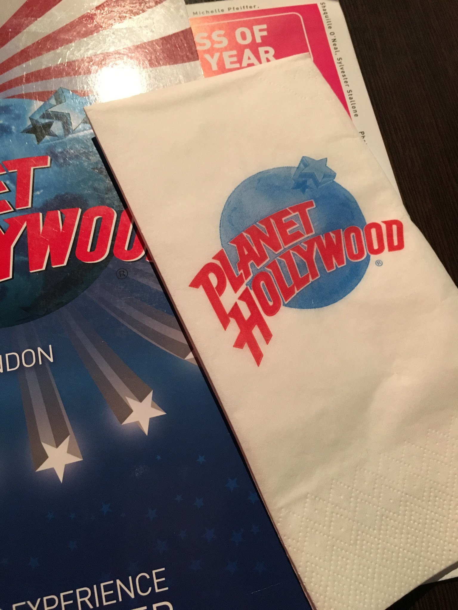 Planet Hollywood, Leicester Square