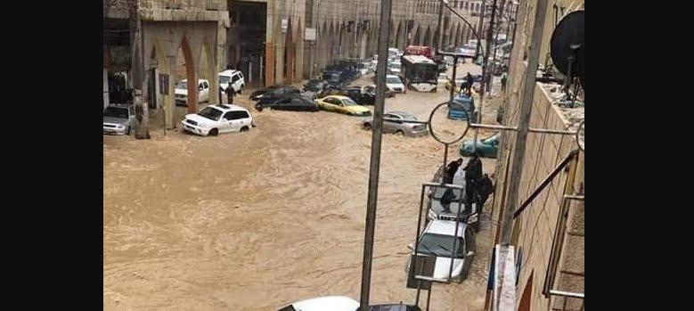 Terribili inondazioni in Giordania, immagini impattanti.