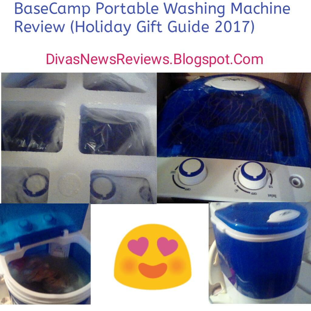 Divas News Amp Reviews Basecamp Portable Washing Machine