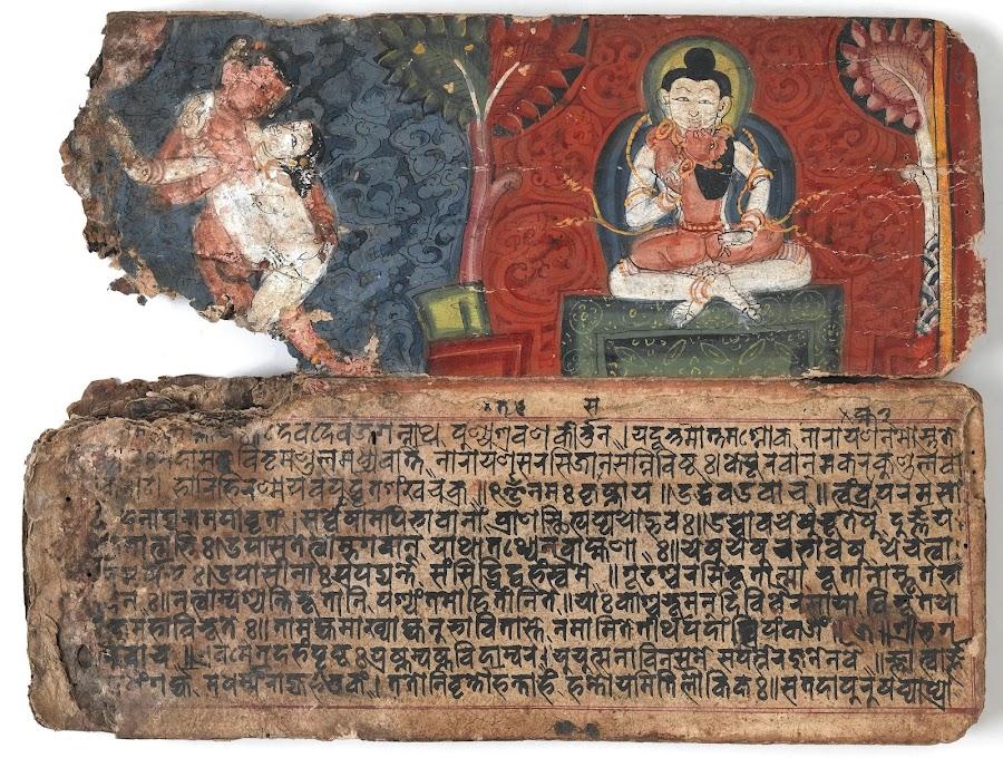 Nepalese Lovemaking Manuscript