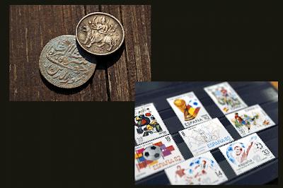 Monedas y Estampillas