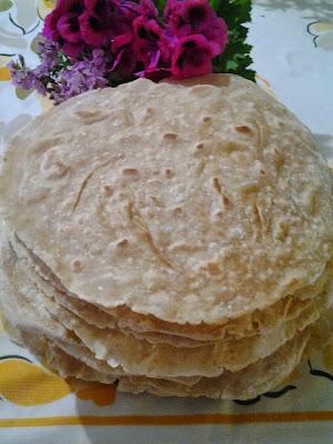 bayat ekmekten lavaş yapımı