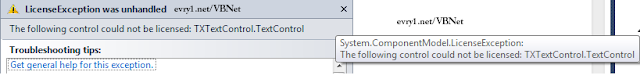 Visual Basic .Net 2010 Tx TxtControl Cracked