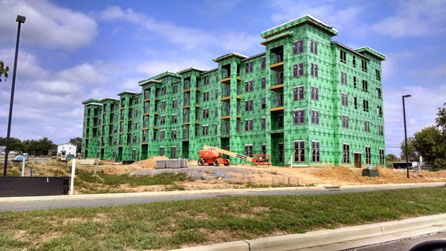 Insulation Commercial Project - Living Complex