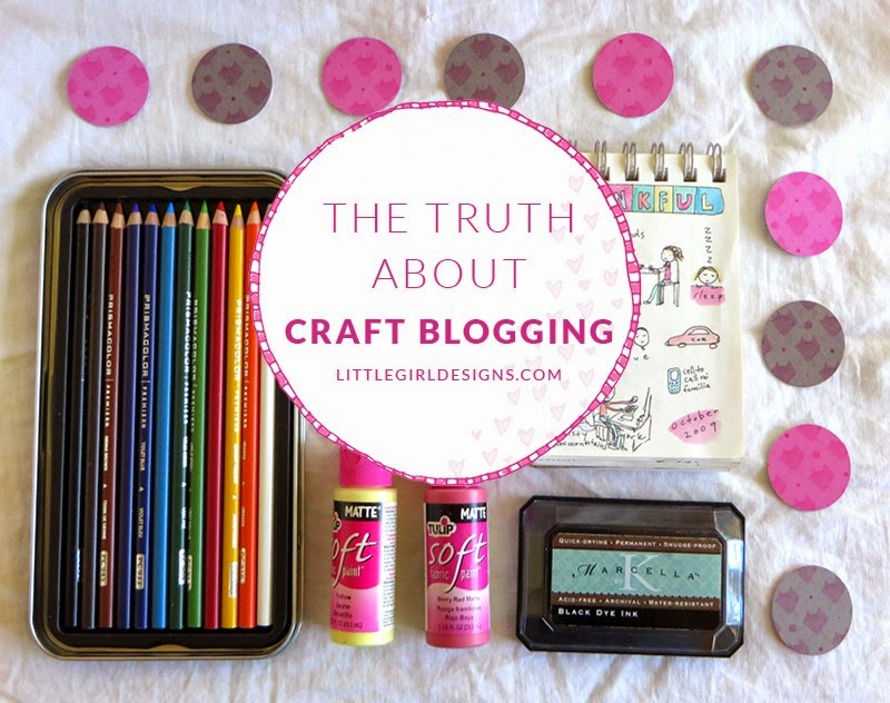 The Truth about craft blogging