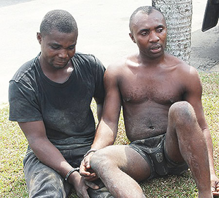 3 robbers arrested fidelity bank rivers state