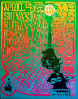 """""""1968-04-12/13+19/20 """"Syringe Head"""" by Gilbert Shelton Shiva's Headband ,Rubaiyat, Conqueroo, Sleepy John Estes"""