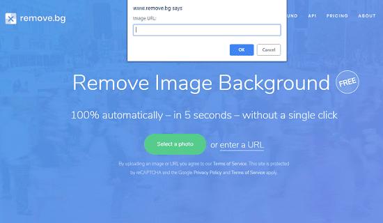 حذف و إزالة خلفية الصور دون برامج وبنقرة زر واحدة