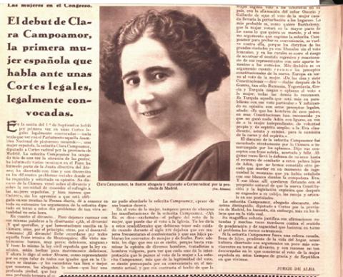 ¿Conoces la Hemeroteca Clara Campoamor de la Biblioteca Universitaria?
