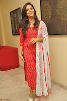 Anusuya in Red at Kalamandir Foundation 7th anniversary Celebrations ~  Actress Galleries 003.JPG
