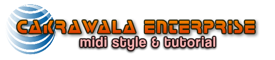 Cakrawala Musik Enterprise Midi Style Creator