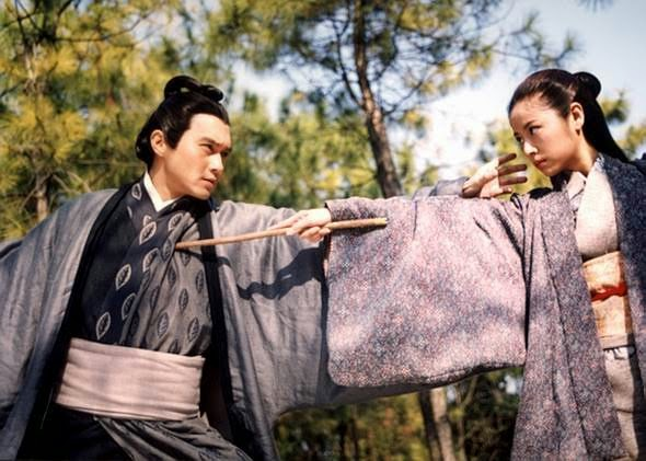 Flying Daggers Ruby Lin Julian Cheung, best 2003 wuxia drama withdrawal