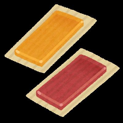 のし梅のイラスト