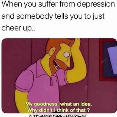 Suffer from depression