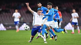 Napoli Dinamo Kiev 0-0 Auriemma champions league telecronisti tifosi highlights
