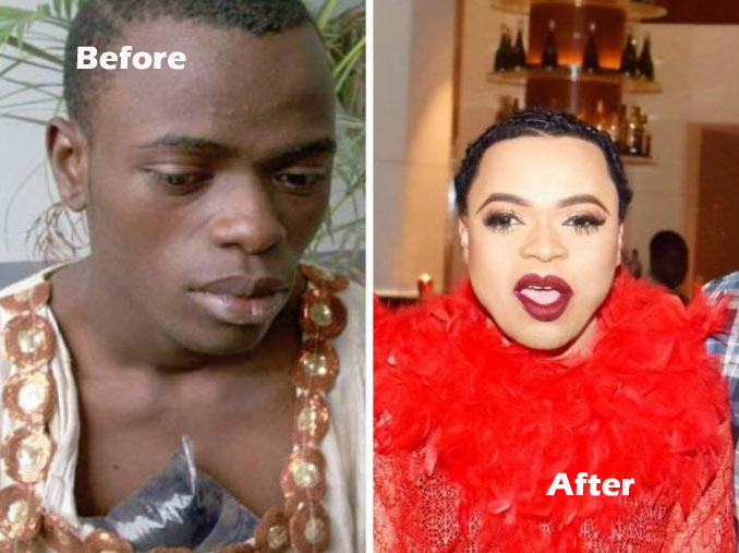 Bobrisky tells his haters to prepare for him in 2017