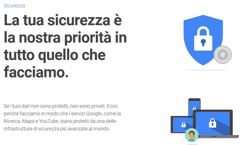 Perché i tuoi dati sono al sicuro con Google e Facebook