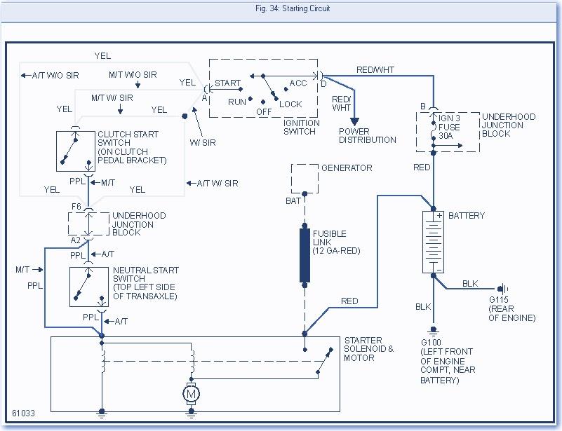 Wiring panel: 1994 Saturn sedan 1 9L Wiring Diagram