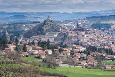 Puy en Velay Auvergne Francia