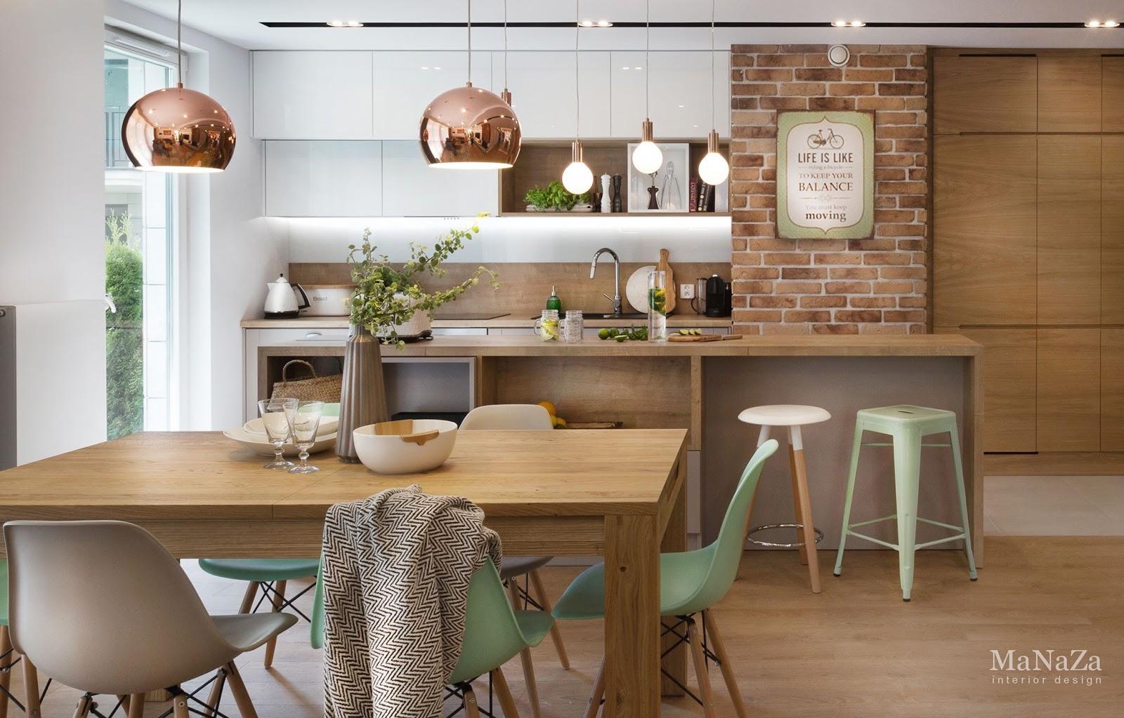 Proiect de amenajare pentru un apartament de 90 m²